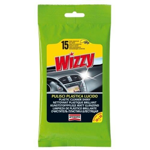 Panno detergente auto Arexons Pulisci Plastica Wizzy 1934