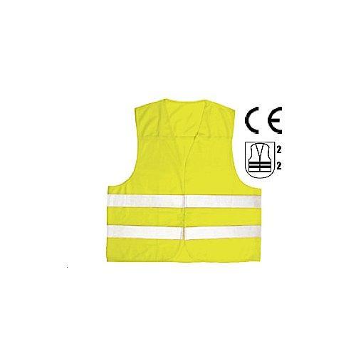 Gilet alta visibilità Co Ra 000126863/62 Giallo o Arancio taglia Unica
