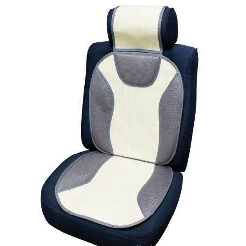 Coprisedili auto Co Ra Sport Fresh Grigio polvere e Bianco 0127503