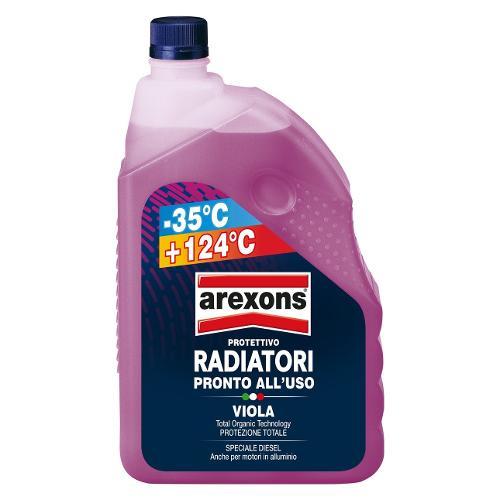 Liquido radiatore Arexons da -35°C a 124°C Viola Flacone 2,0 lt 8018