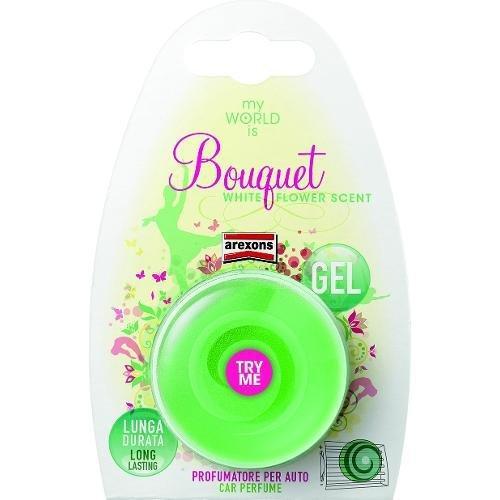 Profumatore auto Arexons Bouquet floreale My World is Verde chiaro 1502