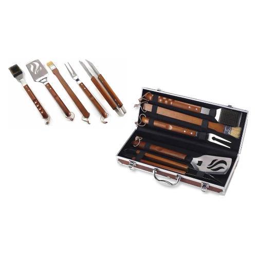 Set attrezzi barbecue Ompagrill 05430