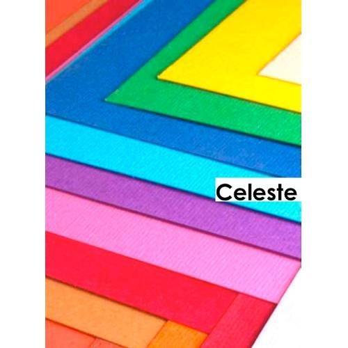 Cartoncino colorato cf. 3 fogli Celeste 50 x 70 cm Elle Erre Fabriano 43350718