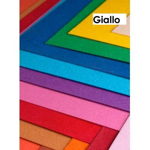 Cartoncino colorato cf. 3 fogli Giallo 50 x 70 cm Elle Erre Fabriano 43350707