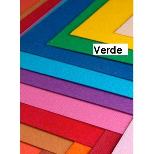 Cartoncino colorato cf. 3 fogli Verde 50 x 70 cm Elle Erre Fabriano 43350711