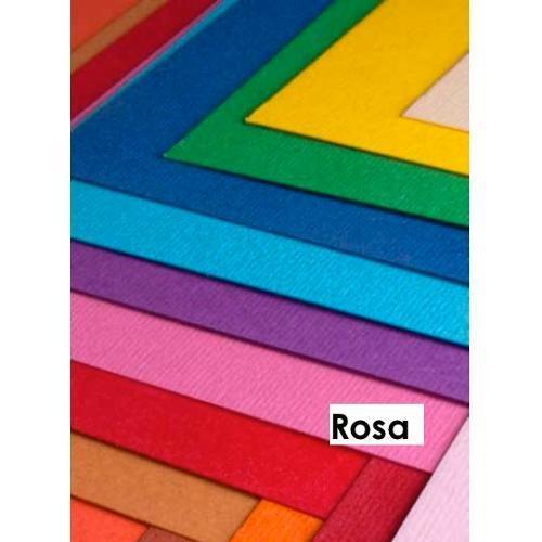 Cartoncino colorato cf. 3 fogli Rosa 50 x 70 cm Elle Erre Fabriano 43350716