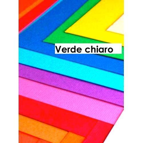 Cartoncino colorato cf. 3 fogli Verde chiaro 50 x 70 cm Elle Erre Fabriano 43350710