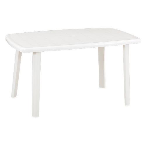 Tavolo fisso esterno Bica Cayman bianco 137 x 85 x 72 cm Bianco Cayman