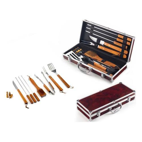 Set attrezzi barbecue Ompagrill 01241