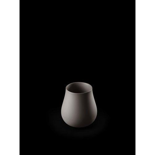 Vaso arredo interno ed esterno Plust Drop tortora D. 69 x h. 73  cm 6254-g9