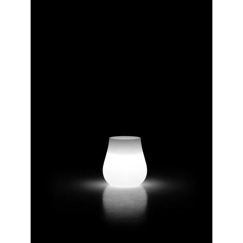 Vaso arredo interno ed esterno Plust Drop neutro D. 69 x h. 73  cm 8254-98