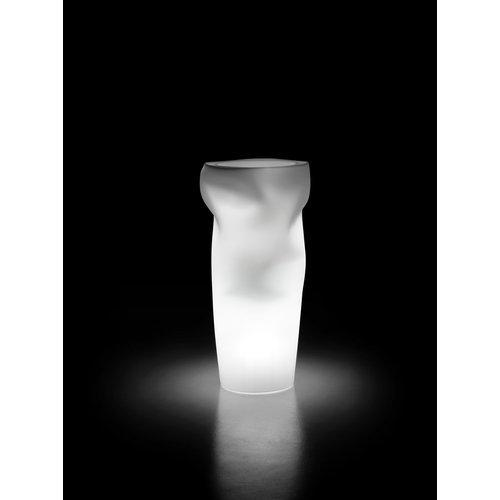 Vaso arredo interno ed esterno Plust Saving Space Vase neutro D. 57 x h. 122  cm 9247-98
