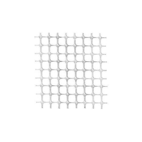 Rete recinzione Tenax hdpe polietilene ad alta densità Quadra bianca 50 x 1  m 62345501