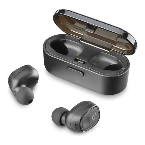 Auricolari microfono bluetooth Cellular Line Bluetooth Headset BTSHADOWTWSK - Intrauricolari In Ear True Wireless