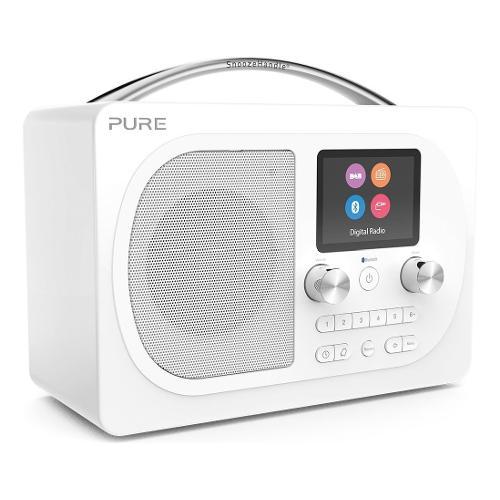 Radio Pure Evoke H4 Bianco 151075