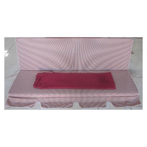 Cuscino dondolo con copertura Amicasa Art.10/O 3posti Bianco