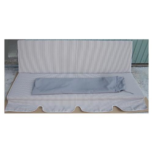 Cuscino dondolo con copertura Amicasa Art.10/M 3posti Grigio