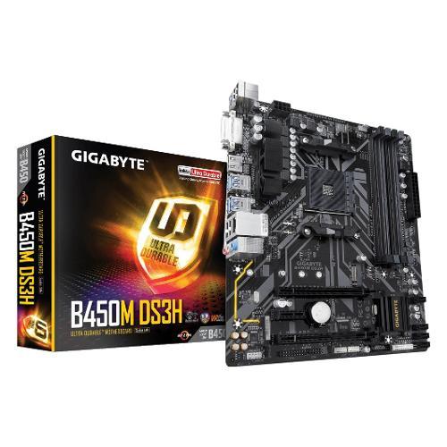 Scheda madre Gigabyte AMD B450 Ultra Durable B450M DS3H