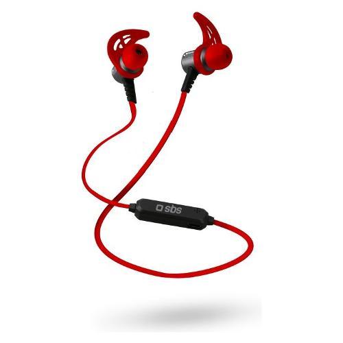 Auricolari microfono bluetooth Sbs Runner magnetici con neck lace TESPORTEARSETBT500R - Intrauricolari In Ear Wireless Stereo