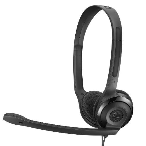 Cuffie microfono filo Sennheiser PC 5 Chat 508328 - Stereo Sovraurali On Ear Mini-jack 3,5 mm