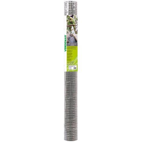 Rete recinzione Verdemax filo di ferro  galvanizzato 9034 zincato 5 x 1  m