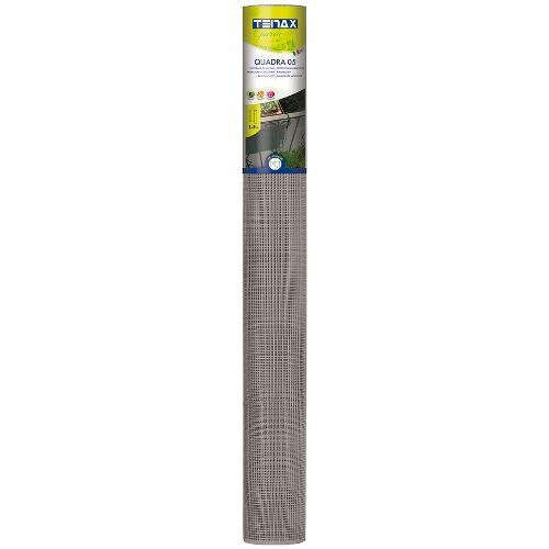Rete recinzione Tenax hdpe polietilene ad alta densità Quadra argento 5 x 1  m 1A140409