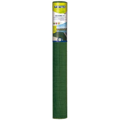 Rete recinzione Tenax hdpe polietilene ad alta densità Quadra verde 5 x 1  m 72020118