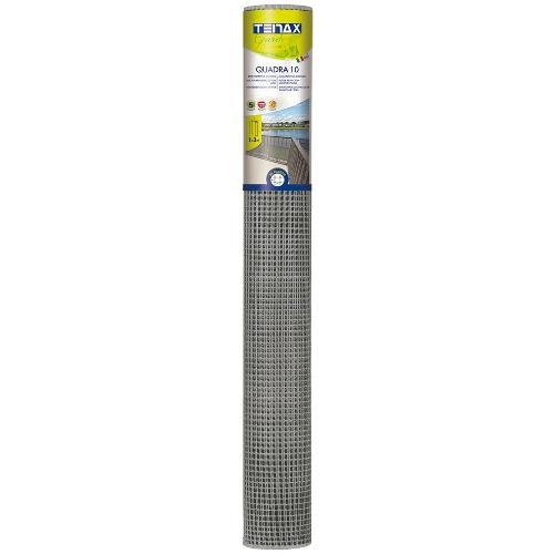 Rete recinzione Tenax hdpe polietilene ad alta densità Quadra argento 5 x 1  m 72020112