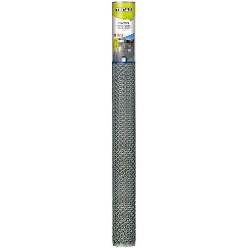 Rete recinzione Tenax hdpe polietilene ad alta densità Exagon argento 5 x 1  m 72040112