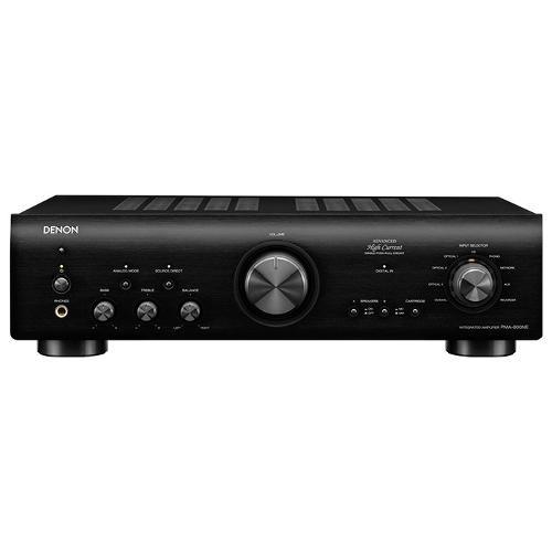 Amplificatore HI FI Denon PMA-800NE potenza 2 x 50w di colore nero