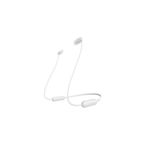 Auricolari microfono bluetooth Sony WI-C200 WIC200W - Intrauricolari In Ear Wireless Stereo
