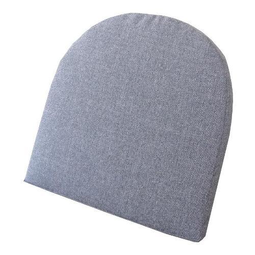 Cuscino poltrona Amicasa Cuscino Seduta Sagomata 45x45 cm Linen Medium Gray Sfoderabile Medium Gray