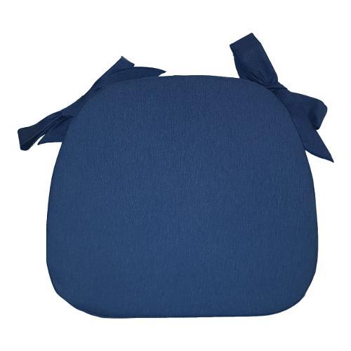 Cuscino sedia Olibò Cuscino Sagomato con lacci 1901 blu