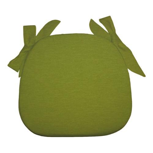Cuscino sedia Olibò Cuscino Sagomato con lacci Verde
