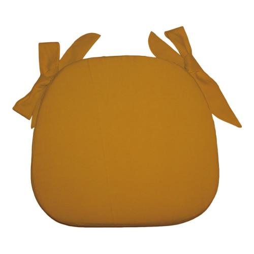Cuscino sedia Olibò Cuscino Sagomato con lacci Giallo