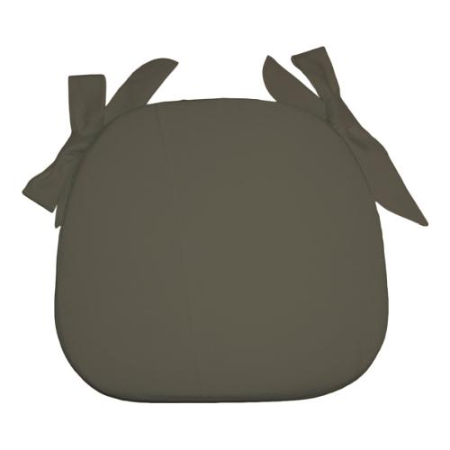 Cuscino sedia Olibò Cuscino Sagomato con lacci Tortora