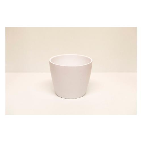 Coprivaso Corino Bruna 08/19B ceramica smaltata bianco 19 x 16  cm