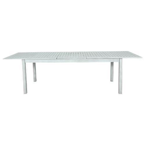 Tavolo allungabile esterno Amicasa Tavolo Allungabile Dublino Antik Alluminio 217/277x100 cm