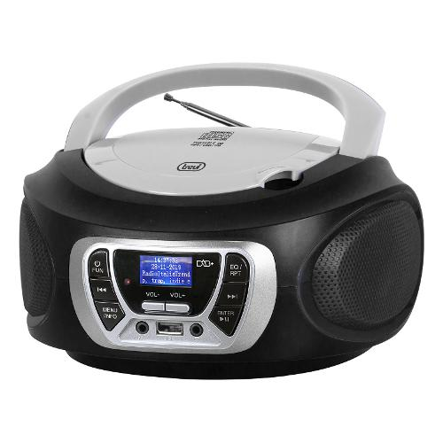 Radiolettore Trevi Radiolet.CMP510DAB Blk Cd/Usb/Aux/Telec