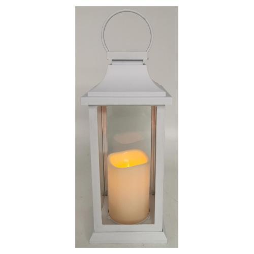 Lanterna Amicasa Bianca con candela led