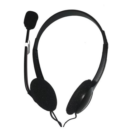 Cuffie microfono filo Itb Headset with microphone EN-HTM-03-USB - Stereo Sovraurali On Ear USB Type-A