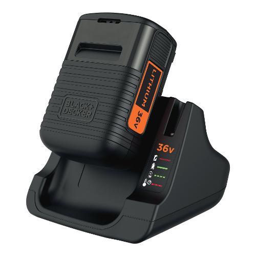 Caricabatterie Black & Decker 36 V 2 Ah BDC2A36