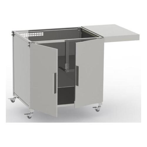 Carrello barbecue Leab 0372021 Pro 037 Carrello inox per PRO 037