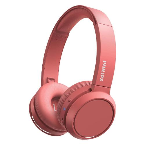 Cuffie microfono bluetooth Philips H4205 BASS Boost TAH4205RD/00 - Sovraurali On Ear Wireless Stereo