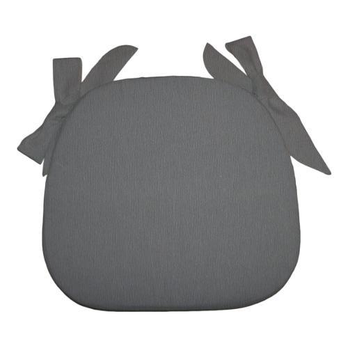 Cuscino sedia Olibò cuscino SAGOMATO c/lacci 2301 grigio