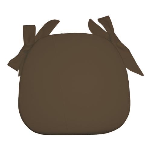 Cuscino sedia Olibò cuscino SAGOMATO c/lacci 2601 marrone