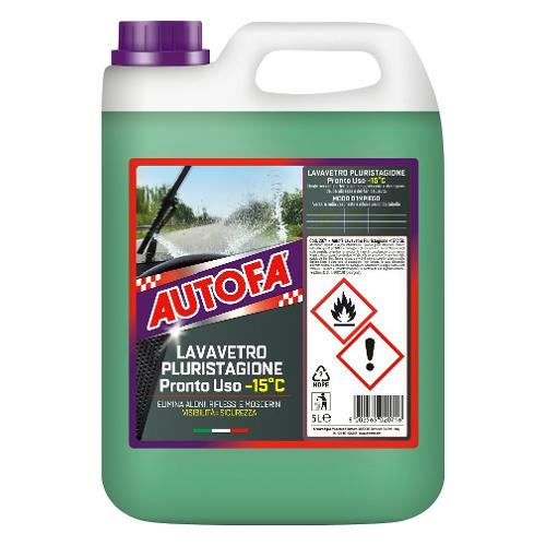 Liquido vetri auto Arexons Tanica lt 5,0 2071