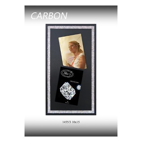 Portafoto Geo's Portafoto 2foto 10x15 CARBON CRI. 1455/3