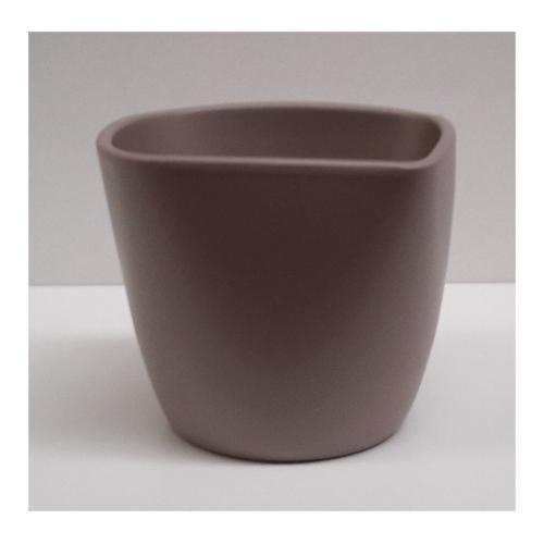Coprivaso Corino Bruna Lara 904/17S ceramica smaltata sabbia 17 x 17 x 15,5  cm