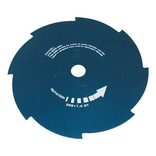 Lama decespugliatore Blue Bird nero 255 mm  con  foro centrale 25,4 mm 600040